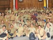 Rapat koordinasi pemenuhan kebutuhan program wajib belajar 12 tahun dan penerimaan peserta Didik baru (PPDB) tahun 2019 - foto: Istimewa