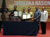 Penandatanganan MoU antara Adinkes dan BPJS di Nusa Dua Bali, Rabu, 20 Maret 2019 - foto: Koranjuri.com