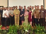 Peserta kegiatan Island Tourism Forum (ITF) di Mataram, Lombok yang digagas oleh Konjen Australia Bali - foto: Istimewa