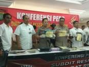 Subdit Resmob Ditreskrimsus Polda Metro Jaya menggelar keterangan pers, Senin, 8 April 2019 - foto: Bob/Koranjuri.com