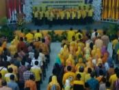 Suasana Rakorda Cawu 1 dan Workshop Pendidikan Politik, di Gedung Kesenian Purworejo, Selasa (11/4) - foto: Sujono/Koranjuri.com