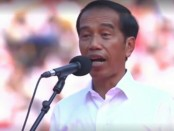 Capres nomer urut 01 Jokowi berorasi pada kampanye terakhir di stadion Gelora Bung Karno bertajuk 'Konser Putih Bersatu', Sabtu, 13 April 2019 - foto: Istimewa