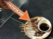 Identifikasi terhadap makanan yang  membuat puluhan Santri di Kebumen mengalami keracunan - foto: Sujono/Koranjuri.com