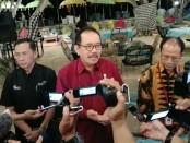 Keterangan pers pelaksanaan BBTF 2019 di Kekeb Restaurant, kawasan ITDC, Nusa Dua, Bali, Selasa 28 Mei 2019 - foto: Koranjuri.com