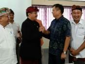 Wakil Gubernur Bali Tjokorda Oka Artha Ardhana Sukawati atau Cok Ace saat bertemu dengan Konsul Jenderal RRT di Bali, Gou Hao Dong di kantor Bali Tourism Board - foto: Istimewa