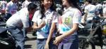 Konvoi Kelulusan di Denpasar Dikawal Polisi Sampai Pantai Pandawa