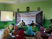 Workshop Pengembangan Keprofesian Berkelanjutan (PKB) di MA An-Nawawi Berjan, Purworejo, dari Rabu (1/5) hingga Kamis (2/5) di aula setempat - foto: Sujono/Koranjuri.com