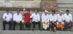 Jokowi Nikmati Suasana Pagi di Tukad Badung