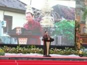 Gubernur Bali I Wayan Koster menghadiri acara 'Merajut Kebersamaan Dalam Bingkai NKRI' yang digelar Polda Bali di Klungkung, Senin, 20 Mei 2019 - foto: Istimewa