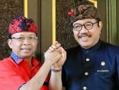 Gubernur Bali Wayan Koster bersama Wakil Gubernur Bali Tjokorda Oka Artha Ardhana Sukawati - foto: Istimewa