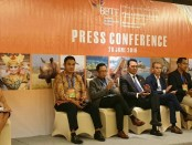 Keterangan pers penutupan BBTF Ke-6 di Bali Nusa Dua Convention Center (BNDCC) - foto: Istimewa