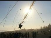 Suasana Festival Layang-layang tingkat Nasional 'Purworejo Kite Festival 2019' di Pantai Ketawang, Grabag, Purworejo, dari Sabtu (29/6) hingga Minggu (30/6) - foto: Sujono/Koranjuri.com