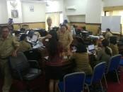 Posko DUPAK yang didirikan di Kantor Dinas Pendidikan Provinsi Bali - foto: Koranjuri.com