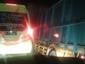 Puncak arus balik, arus lalu lintas dari terminal Wonorejo, Lumajang hingga Klakah, macet dua jam lebih tidak bergerak pada Minggu (16/6/2019) - foto: Bob/Koranjuri.com