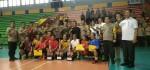 Turnamen Badminton Piala Kapolres Jaktim Ditutup