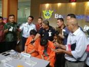 Warga Peru berinisial GTM (55) ditangkap petugas Bea Cukai Ngurah Rai pada 26 Juni 2019 lalu.