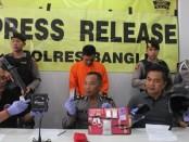 Kasus sabu-sabu, oknum ASN Pemkab Bangli, bernama Nengah Muliarta alias INM alias Sangut itu, ditangkap ketika tengah melintas di Ir. Soekarno pada Senin (22/7/2019) sekitar pukul 19.00 Wita - foto: Istimewa