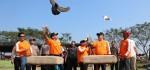 Lomba Merpati Kolong, Meriahkan HUT Bhayangkara Ke-73 Polres Kebumen