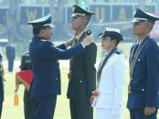 Panglima TNI Marsekal TNIHadi Tjahjanto, melantik dan mengambil sumpah 169 Perwira Prajurit Karier (Pa PK) TNI - foto: Istimewa