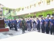 Para siswa baru SMK YPT Purworejo, saat mengikuti kegiatan MPLSPDB, yang diselenggarakan selama tiga hari, dari Senin (15/7) hingga Rabu (17/7) - foto: Sujono/Koranjuri.com