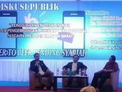 Diskusi publik Fintech Syariah di Ballroom Hotel Royal Mamberamo, Sorong, Papua - foto: Istimewa