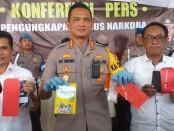 Satuan Resnarkoba Polres Metro Jakarta Timur dan Rutan KIas I Cipinang berhasiI mengungkap peredaran sabu-sabu pada Minggu (28/07/2019) - foto: Bob/Koranjuri.com