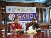 Kepala Kantor Perwakilan Bank Indonesia Provinsi Bali Trisno Nugroho (kiri) - foto: Koranjuri.com