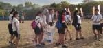 Sambut HUT Sekolah, Siswa SMAN 2 Denpasar Gelar Aksi Bersih Lingkungan
