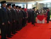 Suasana pelantikan anggota DPRD Kabupaten Purworejo periode 2019-2024 oleh Ketua Pengadilan Negeri Purworejo, Sutarno, Rabu (14/8/2019) - foto: Sujono/Koranjuri.com