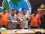 Keempat tersangka dihadirkan dalam ekspose media yang dilakukan Polda Metro Jaya, Kamis, 15 Agustus 2019 - foto: Bob/Koranjuri.com