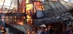 4 Kios Terbakar, Kerugian Ratusan Juta Rupiah