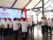 Pelantikan ketua dan pengurus BPC HIPMI Purworejo periode 2019-2022, oleh Ketua BPD HIPMI Jateng, Billy Dahlan, Rabu (4/9), di pendopo Kabupaten Purworejo - foto: Sujono/Koranjuri.com