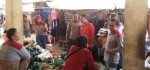 Sasar Pedagang, Grebeg Pasar di Pasar Kaliboto Sosialisasikan KB