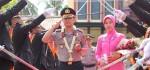 Pedang Pora, Sambut Pejabat Kapolres Kebumen AKBP Rudy Cahya Kurniawan