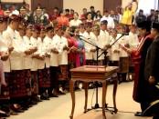 55 anggota DPRD Bali periode 2019–2024 resmi dilantik di Ruang Sidang Utama Kantor DPRD Provinsi Bali, Denpasar, Senin, 2 September 2019 - foto:Istimewa