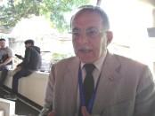 Dr. Mohammed Zaher Alyousfi, parlemen Suriah ditemui Koranjuri.com di Kuta, Bali saat mengikuti World Parliamentary Forum on Sustainable Development (WPFSD) - foto: Koranjuri.com