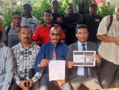 Organisasi Maluku di Jakarta bernama 'Maluku Satu Gandong' mempolisikan seseorang yang menulis komentar di salah satu video YouTube - foto: Bob/Koranjuri.com