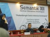 Seminar Antar Tingkat SASINDO UNS, Kamis, 17 Oktober 2019 - foto: Istimewa