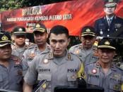 Polda Metro Jaya menggelar upacara pemberian penghargaan Kapolda Metro Jaya kepada anggota yang berprestasi di depan gedung Ditreskrimsus Rabu, 9 Oktober 2019 kemarin - foto: Bob/Koranjuri.com