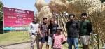 Seni Instalasi Karya Nano Uhero Jadi Pemanis Taman Budaya Bali