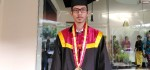 Juara Hacking Nasional Jadi Wisudawan Terbaik ITB-STIKOM Bali