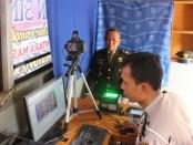 Perpanjangan SIM gratis bagi keluarga besar Kodim 0709 Kebumen, dalam rangka memperingati HUT TNI ke 74 - foto: Sujono/Koranjuri.com