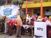 Proses Pemilos 2019 di SMK Batik Purworejo, Kamis (10/10) - foto: Sujono/Koranjuri.com