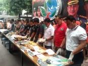Operasi Nila Jaya yang digelar di wilayah hukum Polda Metro Jaya menangani 337 kasus dengan tersangka yang ditangkap sebanyak 410 orang - foto: Bob/Koranjuri.com