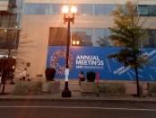 Gedung pertemuan Spring & Annual Meeting 2019 di Washington DC, Amerika Serikat - foto: Deddi Rochendy/channelbali.com