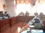 Keterangan pers pelaksanaan event Bali Megarupa di Kantor Dinas Kebudayaan Provinsi Bali, Jumat, 18 Oktober 2019 - foto: Istimewa