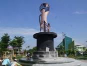 Monumen Konvensi Hak Anak (KHA) di Taman Jayawijaya, Mojosongo, Solo - foto: Istimewa