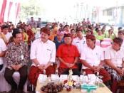 Gubernur menghadiri acara Penandatanganan Perjanjian Kerja Sama dan Peluncuran Ekspor Manggis Bali ke China, di Terminal Cargo Bandara Internasional I Gusti Ngurah Rai, Kuta, Badung pada Kamis, 28 November 2019 - foto: Istimewa