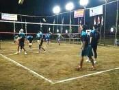 """121 tim bola voli bertanding di Turnamen Bola Voli Putra Desa """"Bintang Timur Cup 2019"""" di Desa Gintungan, Kecamatan Gebang, Kabupaten Purworejo - foto: Sujono/Koranjuri.com"""