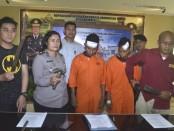 Salah satu pelaku, Sugiono alias Toing ditangkap saat akan mengambil KTP di Polres Badung - foto: Istimewa